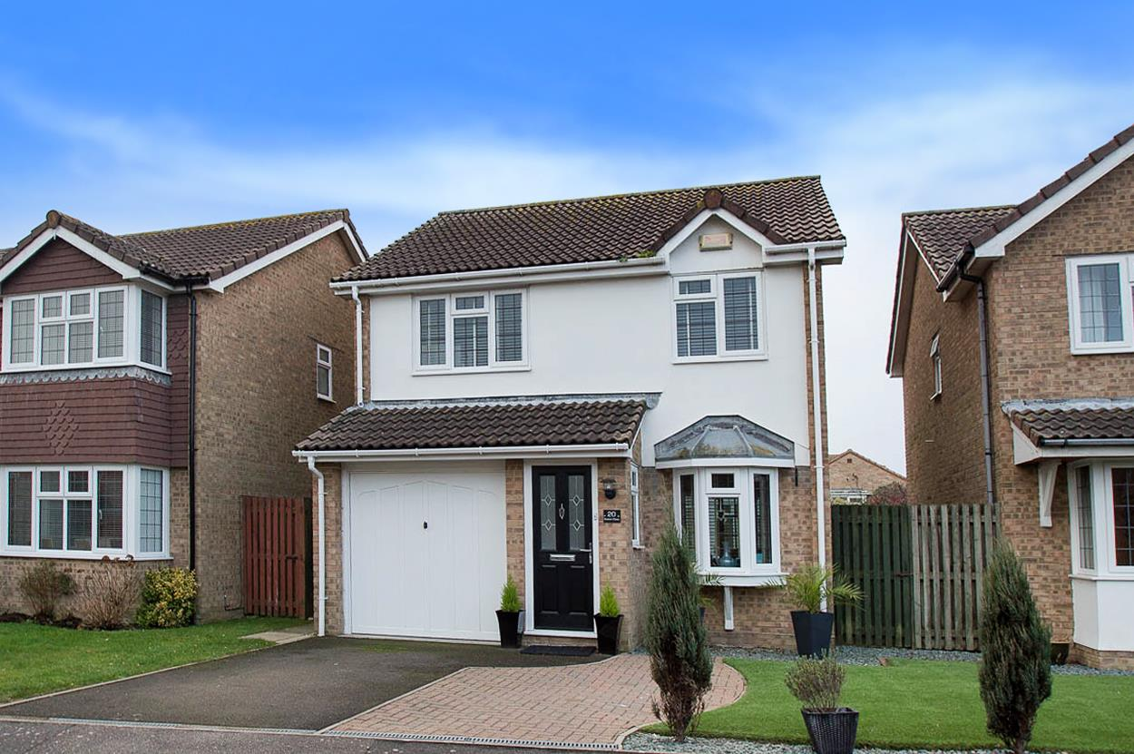 3 Bedrooms Detached House for sale in Boston Close, Sovereign Harbour South, EASTBOURNE